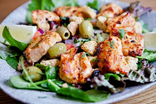 Chicken-Shish-Salad